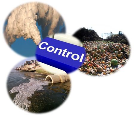 air water food pollution control