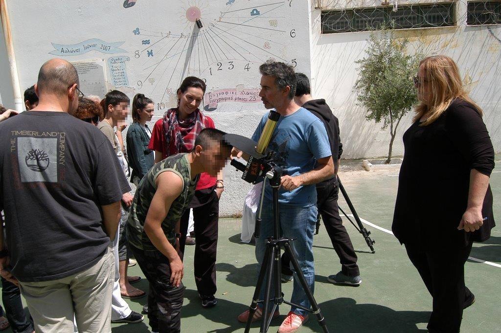 Κοντά στους νέους κρατούμενους του Αυλώνα η ομάδα δράσης του Αστεροσκοπείου