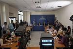 Η συνέντευξη τύπου του Πρωθυπουργού Αλέξη Τσίπρα στο Υπουργείο Παιδείας, Έρευνας και Θρησκευμάτων