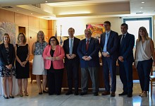 Aναβάθμιση ερευνητικής συνεργασίας Ελλάδας-Γερμανίας συμφώνησαν Κ. Φωτάκης και T. Ράχελ