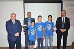 Τιμητική διάκριση για την κατάκτησητης 3ης θέσης στον Πανελλήνιο Διαγωνισμό Εκπαιδευτικής Ρομποτικής στην κατηγορία Γυμνασίου