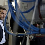 PM Tsipras visits 'Lefkippos' Attica Technology Park (amna.gr)